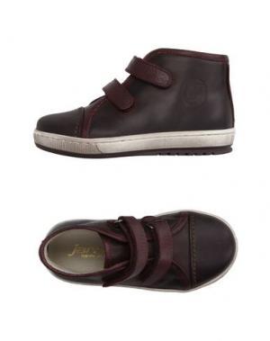 Высокие кеды и кроссовки JARRETT. Цвет: темно-коричневый