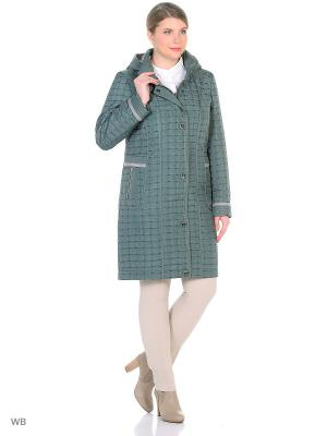 Утепленное пальто MONTSERRAT. Цвет: зеленый