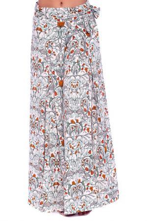 Брюки Emma Monti. Цвет: floral print