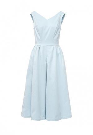 Платье Befree. Цвет: голубой