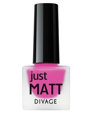 Лак для ногтей JUST MATT тон 5615 DIVAGE. Цвет: фуксия