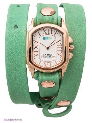 Часы La Mer Collections. Цвет: светло-зеленый