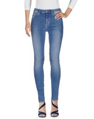 Джинсовые брюки MIH JEANS. Цвет: синий