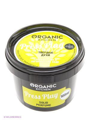 Духи твердые Press Play 100мл Organic Shop. Цвет: черный