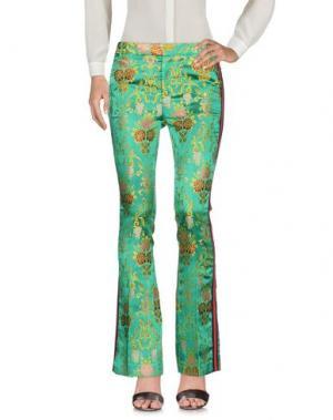 Повседневные брюки FEMME. Цвет: зеленый