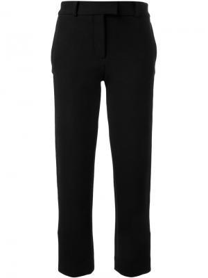 Укороченные брюки Scanlan Theodore. Цвет: чёрный