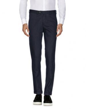 Повседневные брюки B SETTECENTO. Цвет: темно-фиолетовый