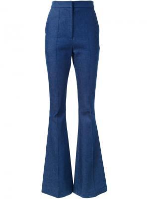 Расклешенные джинсы Flagman Macgraw. Цвет: синий