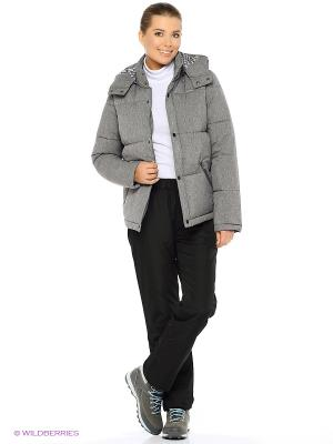 Куртка ROXY. Цвет: серый