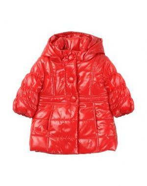 Пальто AMORE. Цвет: красный