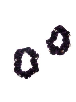 Резинка(2 шт) Bizon. Цвет: фиолетовый