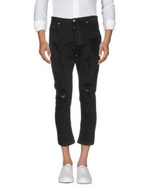 Джинсовые брюки - -ONE > ∞. Цвет: черный