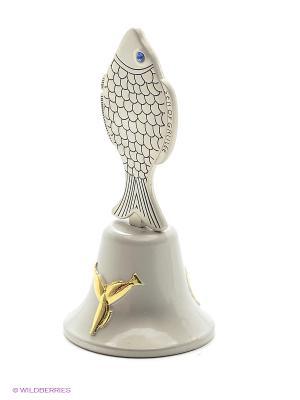 Сувенирный колокольчик Святая Земля Bethlehem Star. Цвет: серебристый