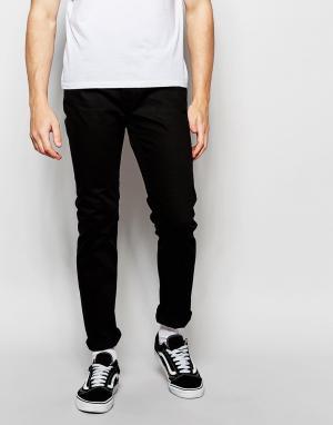Cheap Monday Черные джинсы слим Sonic. Цвет: черный