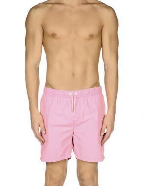 Шорты для плавания SCOTCH & SODA. Цвет: розовый