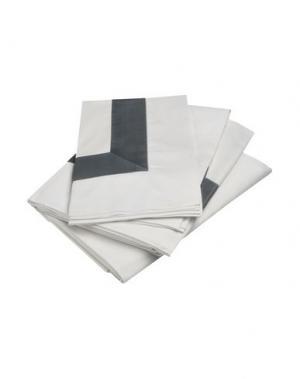 Гарнитура постельного белья FRETTE. Цвет: белый