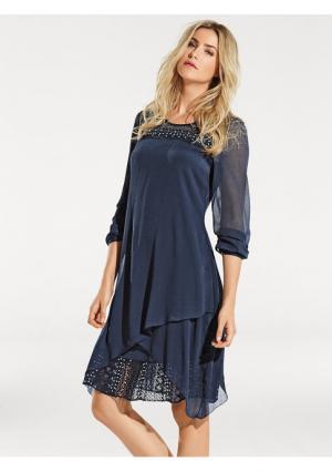 Платье B.C. BEST CONNECTIONS. Цвет: темно-синий