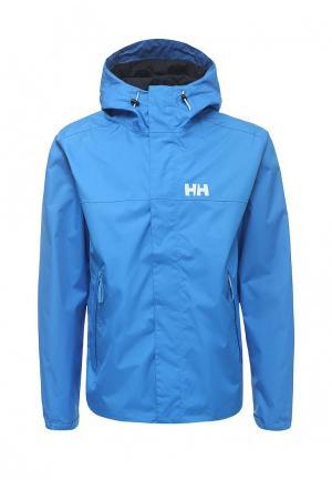 Ветровка Helly Hansen. Цвет: голубой