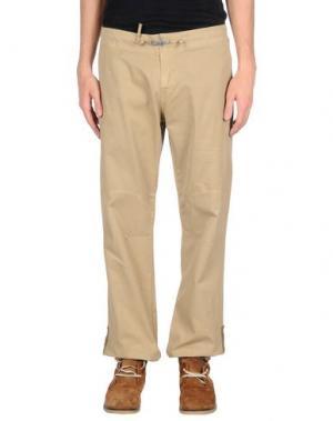 Повседневные брюки MOLO ELEVEN. Цвет: бежевый