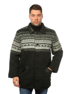 Пальто FREYJA. Цвет: черный, серый, белый