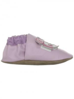 Ботинки MaLeK BaBy. Цвет: фиолетовый, светло-коралловый