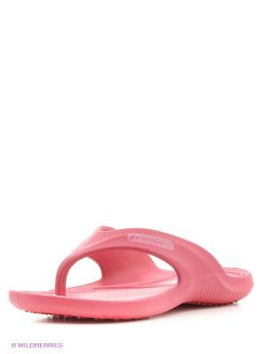 Шлепанцы Rider. Цвет: розовый