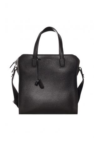 Мужская сумка с аксессуаром FT-177059 Ermenegildo Zegna. Цвет: черный