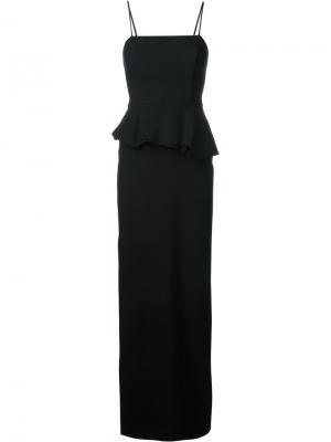 Корсетное платье Chalayan. Цвет: чёрный