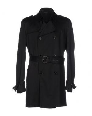 Легкое пальто GREY DANIELE ALESSANDRINI. Цвет: черный