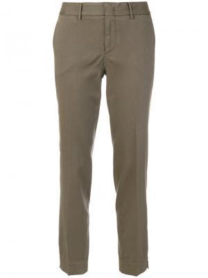 Строгие укороченные брюки Pt01. Цвет: телесный