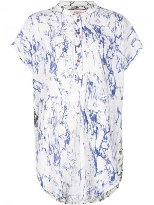 Рубашка Hana Lemlem. Цвет: белый