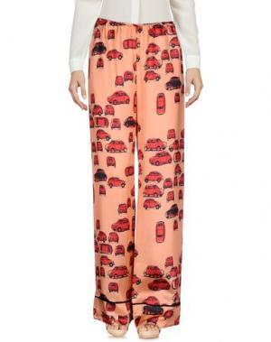 Повседневные брюки ATTIC AND BARN. Цвет: лососево-розовый