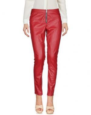 Повседневные брюки DORALICE. Цвет: кирпично-красный
