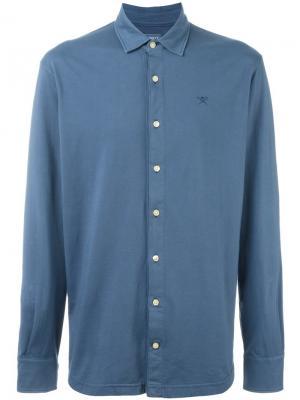 Рубашка GMD Hackett. Цвет: синий