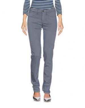 Джинсовые брюки FRED PERRY. Цвет: грифельно-синий