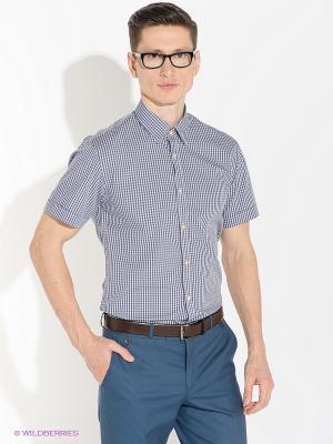 Рубашка Greg Horman. Цвет: темно-синий