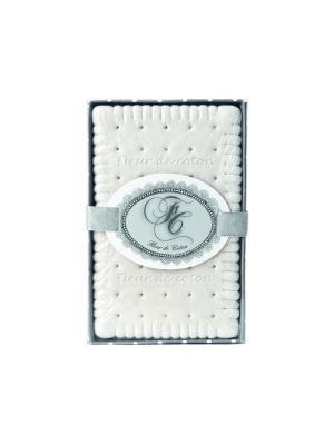 Французское печенье, ароматические гипсовые фигурки  в коробке Мягкость хлопка Mathilde M. Цвет: белый