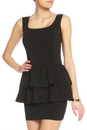 Легкое платье свободного стиля Denny Rose. Цвет: черный
