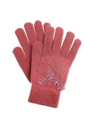 Перчатки Migura. Цвет: розовый