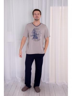 Домашний костюм BASIL. Цвет: серый