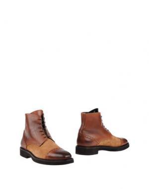 Полусапоги и высокие ботинки ALEXANDER TREND. Цвет: желто-коричневый