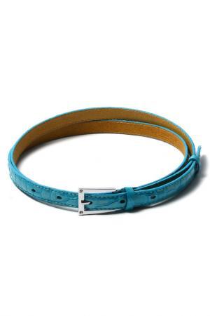 Ремень Vip Collection. Цвет: голубой