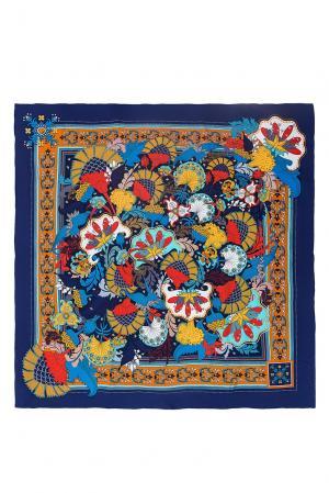 Шелковый платок 183370 Moltini. Цвет: разноцветный