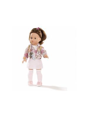 Кукла Елизавета шатенка GOTZ. Цвет: белый