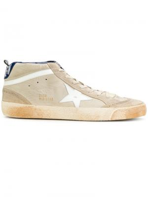 Mid Star sneakers Golden Goose Deluxe Brand. Цвет: телесный