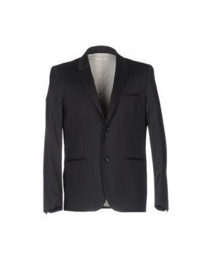Пиджак WON HUNDRED. Цвет: стальной серый