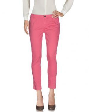 Повседневные брюки TOY G.. Цвет: пастельно-розовый
