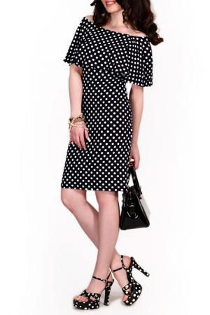 Платье FRANCESCA LUCINI. Цвет: горошек