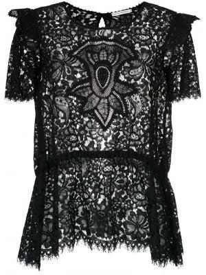Nilda lace blouse Martha Medeiros. Цвет: чёрный