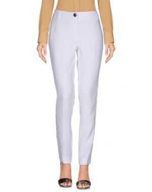 Повседневные брюки EMME by MARELLA. Цвет: белый